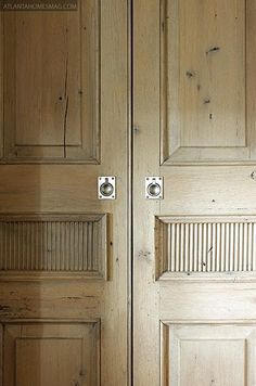 Atlanta Homes Magazine, Birmingham, Architects Paul Bates & Jeremy Corkern, designer Betsy Brown, old oak, wood, doors