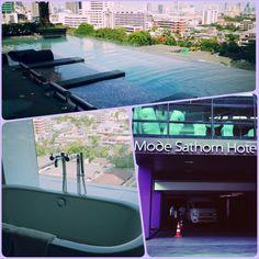 Mode Sathorn Hotel at Bangkok, very chic one