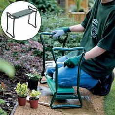 Only US$49.99 , shop Folding Stainless Steel Garden Kneeler Stool EVA Cushion Seat Gardening Portable Tool at Banggood.com. Buy fashion Hand Tools online.