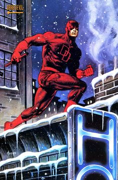 Daredevil by Joe Jusko