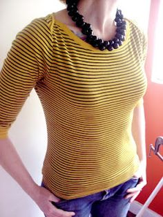 Homemade Mamas - cover stains on a shirt with natural turmeric dye