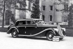 Také tento pohledný sedan Tatra 52 karosovali ve Vysokém Mýtě Vintage Cars, Antique Cars, Subaru Impreza, Concept Cars, Mazda, Grand Prix, Cars And Motorcycles, Peugeot, 4x4
