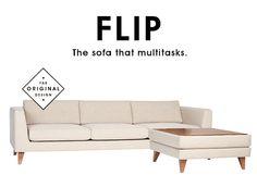 FLIP: The sofa that multitasks.