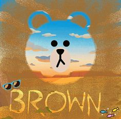 Cony Brown, Brown Bear, Cute Panda Drawing, Melody Hello Kitty, Line Illustration, Illustrations, Brown Line, Iphone 6 Wallpaper, Cute Love Cartoons