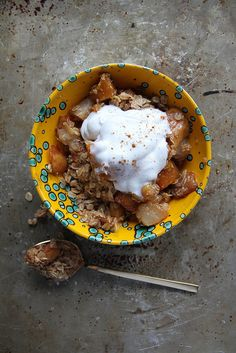 ... Baked Spiced Pumpkin Pear Crisp | Pear Crisp, Pears and Pumpkins