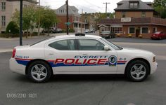 Bedford County, Pennsylvania, Everett Police Department, Dodge Charger vehicle.