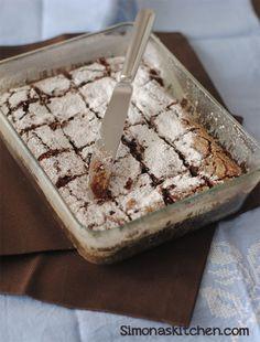 Brownies al Cioccolato Fondente e Caffè - Dark Chocolate Brownies with Coffee