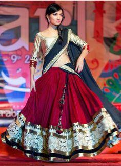 MAROON AND BLACK PURE GEORGETTE EMBROIDERY LEHENGA CHOLI #Designer #Saree #anarkali #SalwarSuits #Kurtis #Gown #LehengaCholi #jewellery #UttamVastra #EthnicWear #price #onlineshopping #indianwear #buyonline #instagram #fashionjewellery #trendydress #Silk #Embroidery
