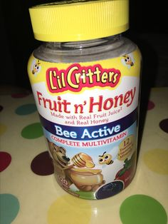 I love #LilCritters Fruit n' Honey Bee Active flavor! it's super tasty #freesample