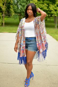 Summer Style Series: Elevate Your Summer Style (Look Curvy Girl Outfits, Mom Outfits, Chic Outfits, Summer Outfits, Fashion Outfits, Summer Fashions, Short Outfits, Grey Fashion, 70s Fashion