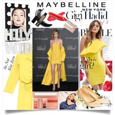 Maybelline x Gigi Hadid by So Not Size Zero on Polyvore
