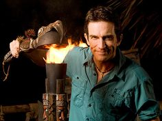 AH Jeff Probst-this pic makes me laugh. I LOVE SURVIVOR! Been watching it since season 2 (Favorite Show)