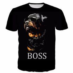 Rottweiler Boss T-Shirt - Limited Edition!