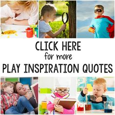 Play is the Way - Quotes and Inspiration for everyone who believes in PLAY! Play Based Learning, Preschool Activities, Kids Learning, Preschool Lesson Plans, Preschool Education, Kindergarten Readiness, Teaching Resources, Cooperative Education, Transitional Kindergarten