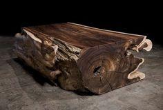 moderner Couchtisch aus wiederverwendetem Holz ROSEWOOD TRUNK Hudson Furniture