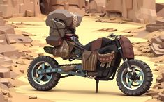 ArtStation - Mad Max Cars, ben regimbal