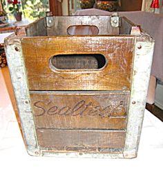 Sold at More Than McCoy on TIAS: vintage Sealtest milk crate!