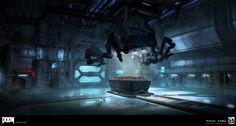 ArtStation - DOOM - Welcome to the UAC, Colin Geller