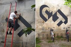 Modern grafitti