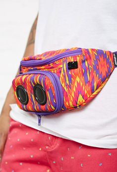 JammyPack Neon Southwestern Print Bag from Forever 21.  Call it what you will, it's a fanny pack! Extreme FAIL!