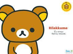 Rilakkuma's just a relaxed bear.