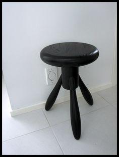'baby rocket stool' designed by eero aarnio in 2006 for artek