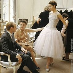 "151 Likes, 4 Comments - Mark Shaw London & Sydney (@markshawlondonsydney) on Instagram: ""Mark Shaw photographs behind the scenes of fashion house DIOR, 1954. Here Odile wears 'Cuba'.…"""