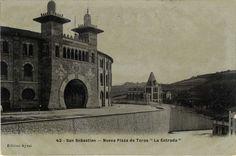 "San Sebastián : nueva plaza de toros : ""la entrada"", 19--?"