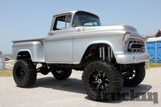 Definitely need this...wish I would have had this for all of my remodeling!  Lifted Chevy - Chevrolet