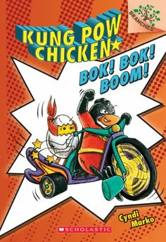 Kung Pow Chicken #2: Bok! Bok! Boom! (A Branches Book) by Cyndi Marko,http://www.amazon.com/dp/054561063X/ref=cm_sw_r_pi_dp_PH0ltb0WM332KCAJ
