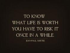 Risk life