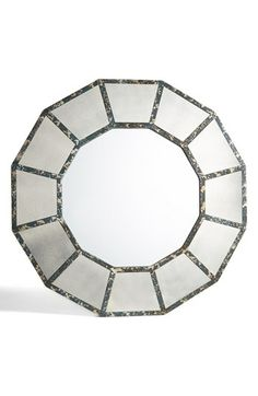 Three Hands Antiqued Wooden Mirror available at #Nordstrom