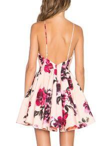 DESCRIPTION Fabric :Fabric has no stretch Season :Summer Type :Sun Pattern Type :Floral Sleeve Length :Sleeveless Color :Multicolor Dresses Length :Short Style