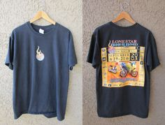 Lone Star Biker Bash T-Shirt Sep 19-21 2003 Texas by GeekGirlRetro