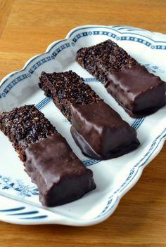 Double Chocolate Flapjacks