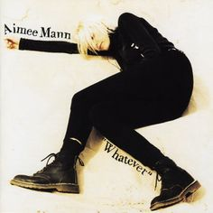 Aimee Mann - Whatever 'til Tuesday had some great songs, but it couldn't prepare anyone for how great THIS album was. Paul Weller, Devotional Songs, Music Artwork, Lost In Space, Best Albums, Music Library, Greatest Songs, Tour T Shirts, 90s Fashion