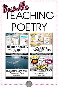 Teaching Poetry, Bundle