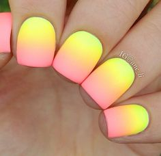 Need a perfect Neol Nail art Design? Here are some trendy & funky neon nail art designs & colors. Check out stylish Neon nail art pictures here. Neon Nail Art, Neon Nails, Cute Nail Art, Diy Nails, Cute Nails, Gradient Nails, Rainbow Nails, Nail Art Designs, Girls Nail Designs