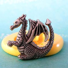 Dragon Mold Flexible silicone Medieval by CrazyLadiesCreations