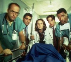 ER -- Awesome for a majority of its run, though I'm partial to the Sherry Stringfield seasons. I remember running into her after The Golden Globes ceremony, when it had only aired a couple of times and she took me over to hang with the cast as they waited for their cars to arrive.