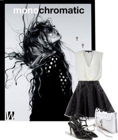 ENTER OUR MONOCHROMATIC CONTEST! http://www.polyvore.com/monochrome_black_white/contest.show?id=391136