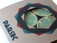 """Parsec"" chutes and ladder board game by Jeremy Soles, via Behance"