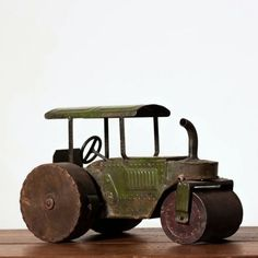 Find it at the Foundary - Antique Toy Tractor - Green. $234
