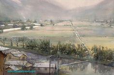 (1) Keiko Tanabe Watercolor Paintings