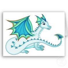 Eva likes the snow dragons