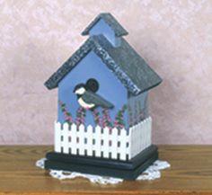 Birdhouse CD Holder Pattern