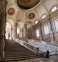 18th-Century Royal Palace at Caserta  Italy