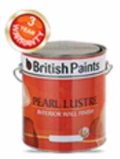 British Paints presents its enormous collection of Pearl Lustre for Interior Wall Finish For more information visit: http://www.britishpaints.in/interior-wall-paints/pearllustre.html
