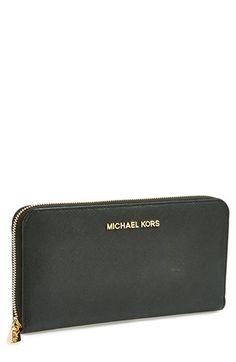 MICHAEL Michael Kors 'Jet Set' Travel Wallet available at #Nordstrom