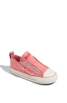 Converse Chuck Taylor® 'Frayless Ruffle' Slip-On (Baby, Walker, Toddler, Little Kid & Big Kid) available at Nordstrom